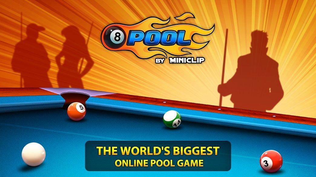 تحميل Eight Ball Pool 5.00 – بلياردو 8 مهكرة للاندرويد