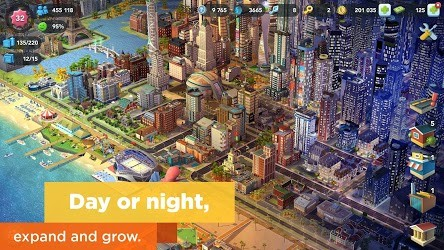 تحميل سيم سيتي SimCity BuildIt اخر اصدار [مهكرة + APK] للاندرويد