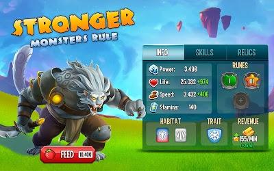 تحميل Monster Legends اخر اصدار [مهكرة + APK] للاندرويد