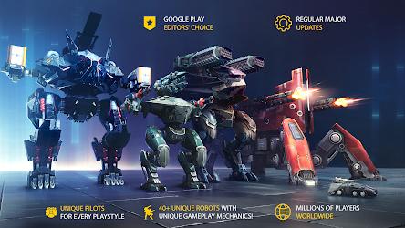تحميل War Robots 5.7.0 اخر اصدار [مهكرة + APK] للاندرويد