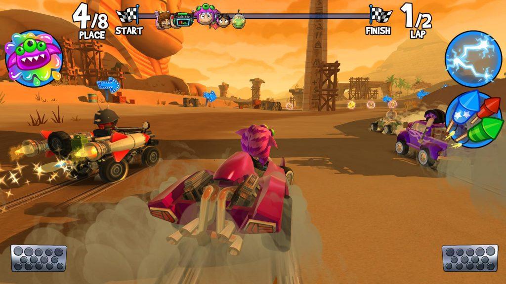 تحميل Beach Buggy Racing 2 – لعبة سباق [مهكرة + APK] لـ اندرويد