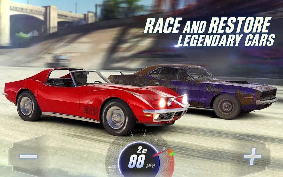 تحميل CSR Racing 2 –  لعبة سباق [مهكرة + APK] لـ اندرويد