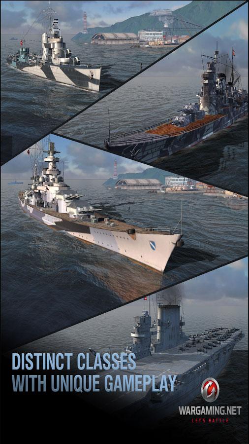 تحميل World of Warships Blitz اخر اصدار [مهكرة + APK] للاندرويد