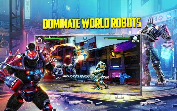 تحميل World Robot Boxing 2 – [مهكرة + APK] لـ اندرويد