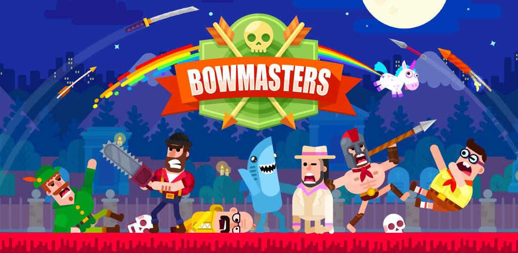 تحميل لعبة Bowmasters مهكرة للاندرويد [آخر اصدار]