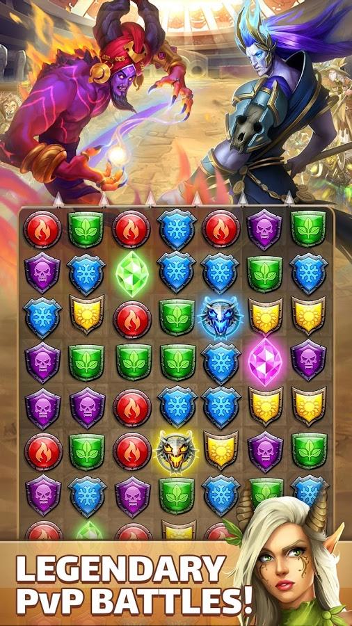 تحميل Empires & Puzzles: RPG Quest 26.0.3 مهكرة للاندرويد