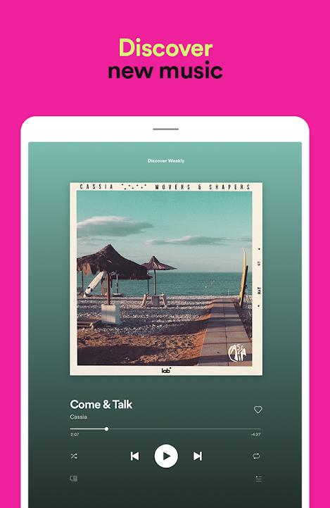 تنزيل سبوتيفاي بريميوم Spotify Music 8.5.59.1137 لـ أندرويد
