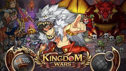 تحميل Kingdom Wars 1.6.4.9 مهكرة للاندرويد