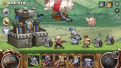 تحميل لعبة kingdom wars مهكرة للاندرويد
