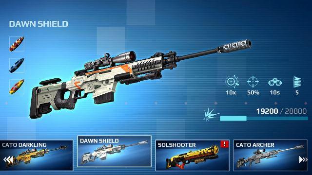 تحميل sniper fury [مهكرة + APK] اخر اصدار للاندرويد