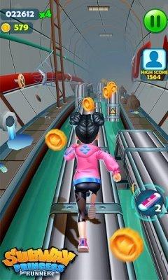 تحميل Subway Princess Runner لـ اندرويد [مهكرة + APK]