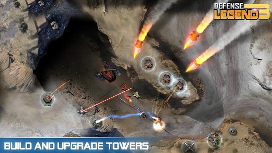 تحميل Defense Legend 3: Future War لـ اندرويد [مهكرة]