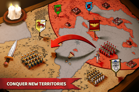 تحميل Grow Empire: Rome 1.4.37 مهكرة مجاناً للاندرويد