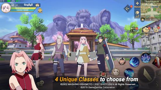 تحميل لعبة Naruto: Slugfest لـ اندرويد