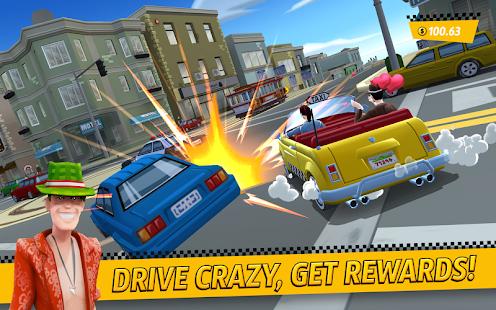 تنزيل لعبة Crazy Taxi City Rush مهكرة لـ اندرويد