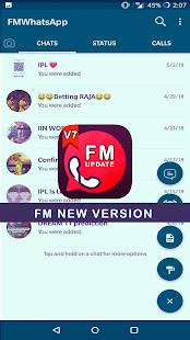 تنزيل اف ام واتساب FMWhatsApp 9.09 لـ اندرويد