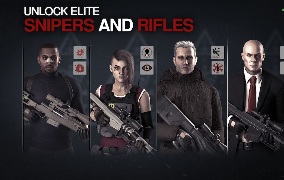 تحميل Hitman Sniper 2 [مهكرة] لـ اندرويد