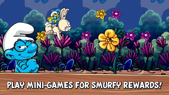 تنزيل Smurfs Village مهكرة (اموال لانهاية) للاندرويد