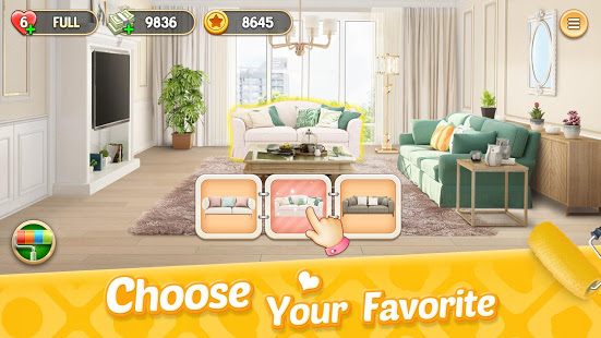 تحميل My Home: Design Dreams 1.0.219 لـ اندرويد [مهكرة]