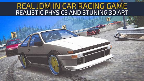 تحميل JDM racing 1.4.0 مهكرة لـ اندرويد