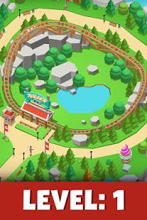 تحميل Idle Theme Park مهكرة لـ اندرويد