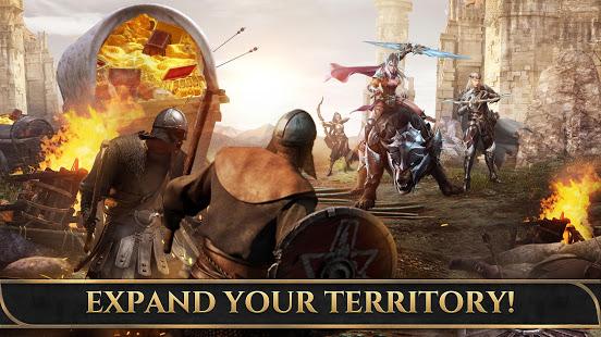 تحميل King of Avalon: Dragon War 8.6.0 مهكرة لـ اندرويد