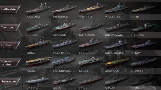 تحميل WARSHIP BATTLE:3D World War II 3.0.8 مهكرة لـ اندرويد