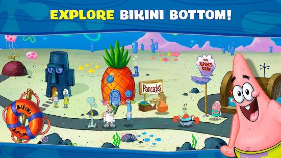 تحميل SpongeBob: Krusty Cook-Off مهكرة لـ اندرويد