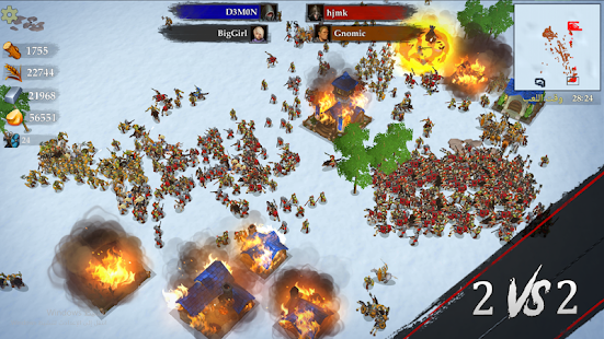 تحميل War of Kings 66  مهكرة لـ اندرويد