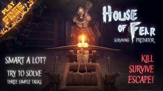 تحميل House of Fear: Surviving Predator 4.4 مهكرة لـ اندرويد