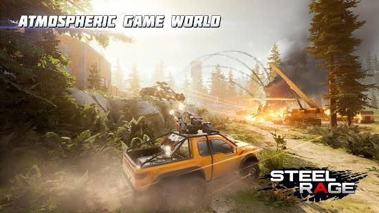 تحميل Steel Rage: Mech Cars PvP War 0.155 مهكرة لـ اندرويد