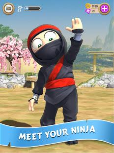 تحميل لعبة Clumsy Ninja مهكرة للاندرويد