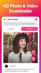 تحميل برنامج video downloader – for instagram لـ اندرويد