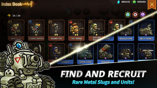 Metal Slug Infinity تحميل [OBB+APK] لـ اندرويد