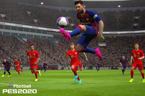 تنزيل  إي فوتبول بيس EFootball PES 2021 لـ اندرويد
