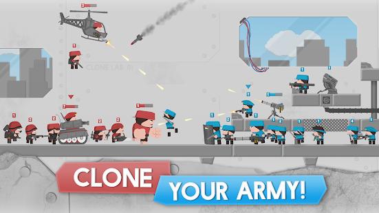 تحميل Clone Armies مهكرة لـ اندرويد