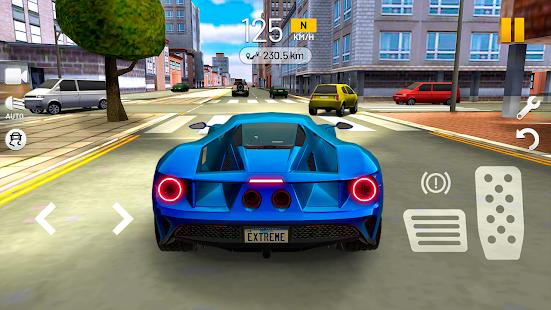 تحميل Extreme Car Driving Simulator مهكرة لـ اندرويد
